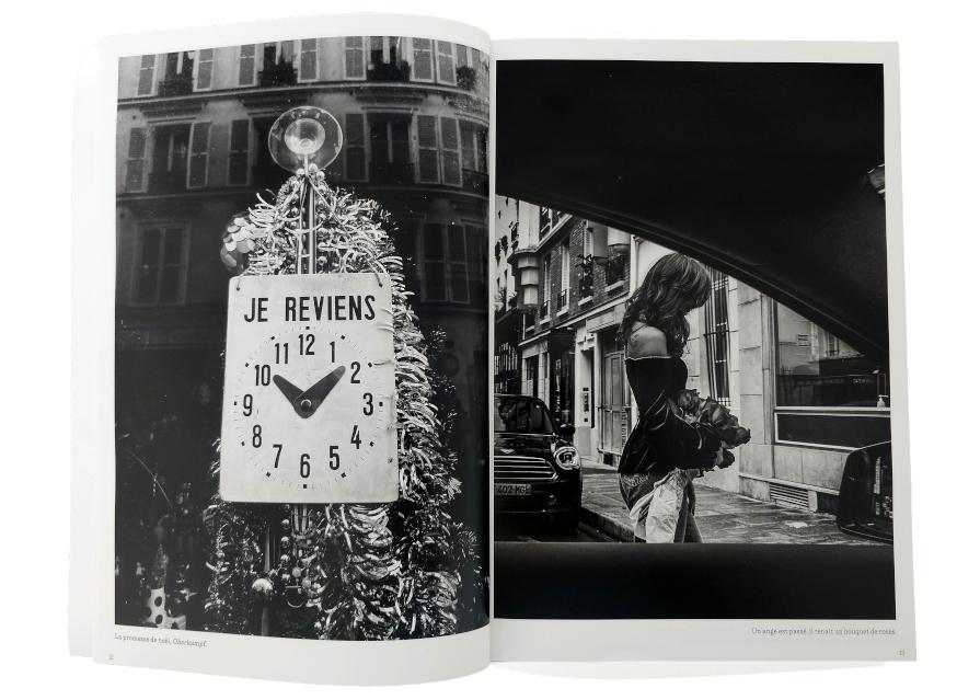 Parisiennes dans l'objectif de Nikos Aliagas, exposition Ville de Paris 2021, intérieur