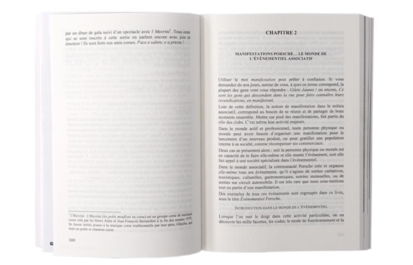Porsche Communité, ...ma seconde famille, Michel Artéro, Artéro Editions, intérieur
